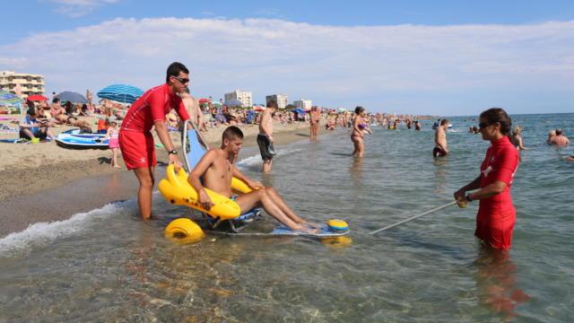 Argeles Sur Mer Accueil Handicapes Plage