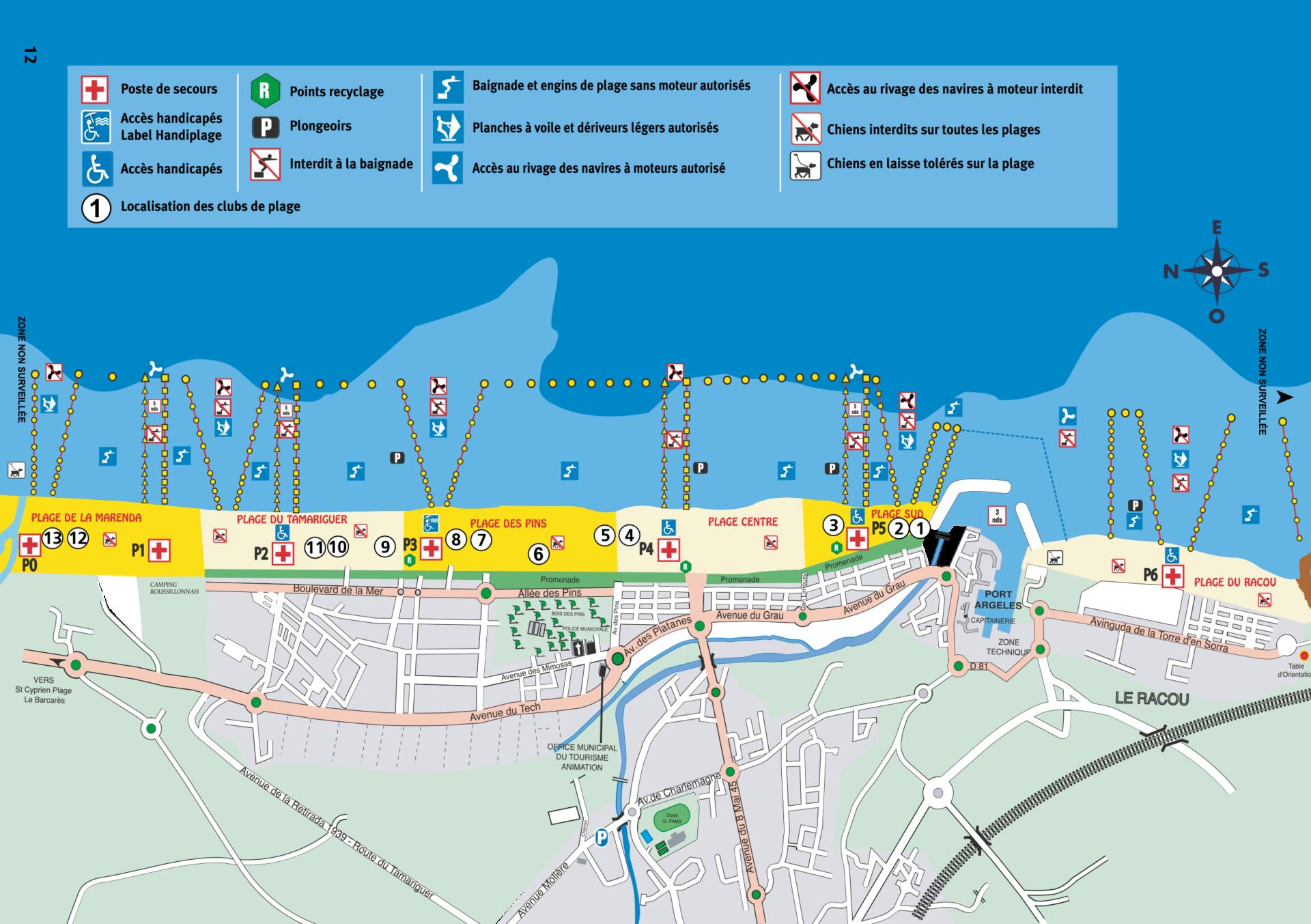 Supervision of beaches & First-aid posts | Office de Tourisme Argeles-sur-Mer