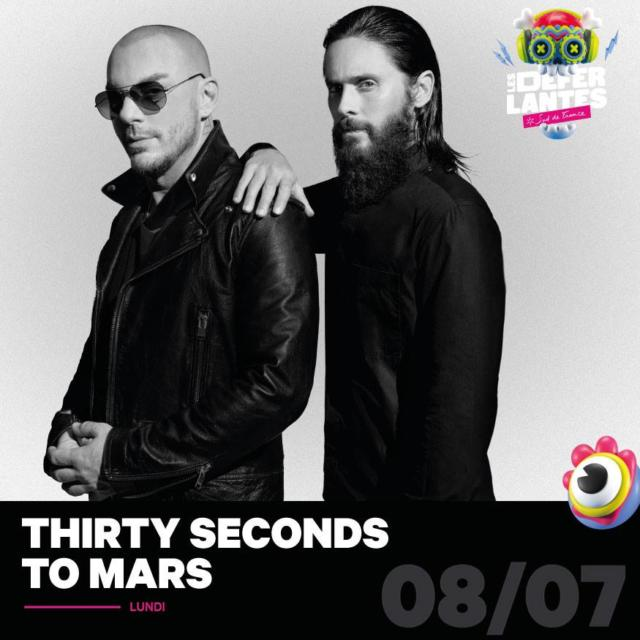 Thirty Seconds To Mars Festival Deferlantes Argeles 2019