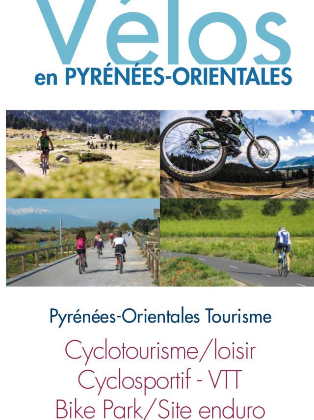 Carte Velo Pyrenees Orientales