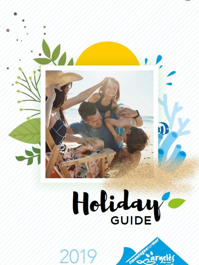 Holiday Guide Argeles 2019 Couv