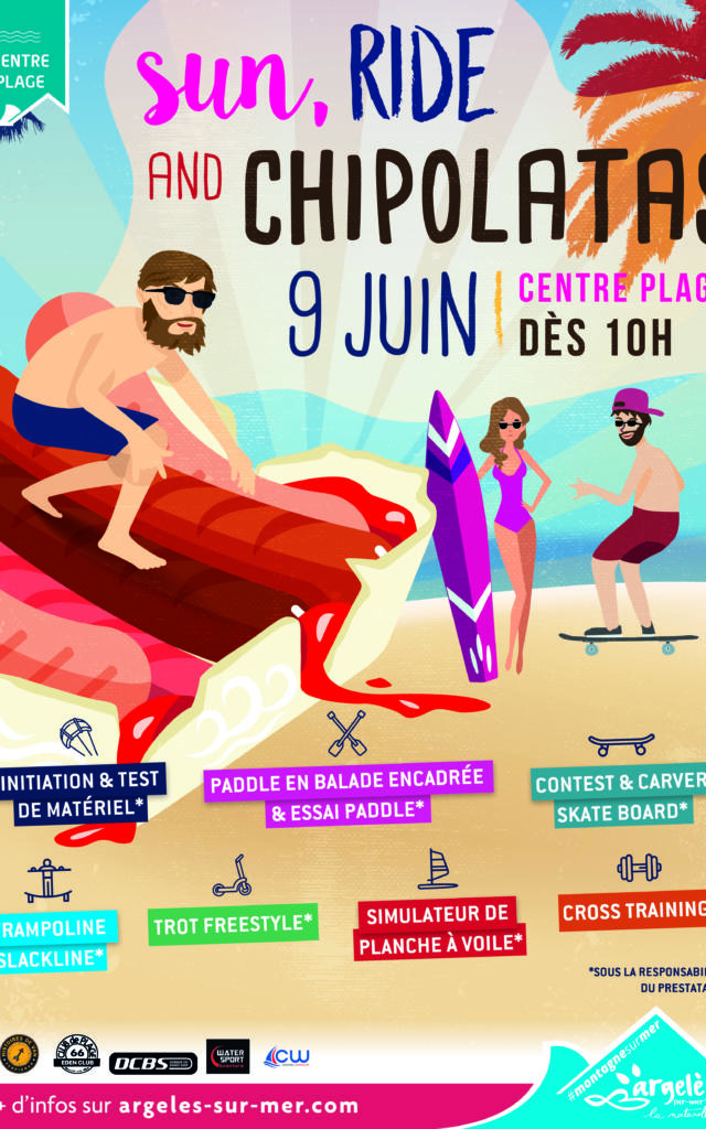 Sun Ride And Chipolatas Argeles 2019