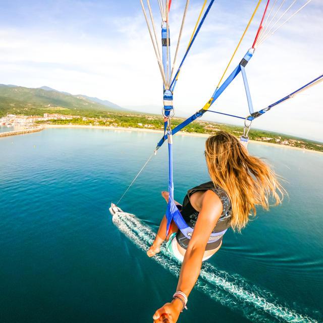 Parachute ascensionnel argeles